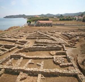 Aρχαιολογικος χωρος θερμης